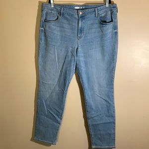 Old Navy Power Straight Blue Jeans